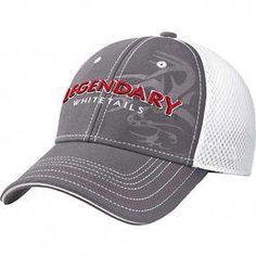 dc8acdb3fa1 Men s All Pro White Mesh Gray Cap  HuntingClothesGunsandApparel Hunting Hat