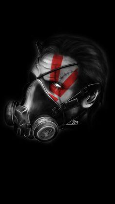 Big Boss  Artwork  Metal Gear Solid V The Phantom Pain || Wallpaper