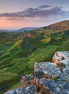 Brecon Beacons, Wales - I can't stop looking at this photo! Amazing landscape with beautiful colors, the sunset and the green fields are touching my heart! It's is sad that there aren't many photos of Wales on Pinterest. If you have, please share them!