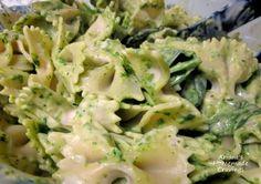 Bowtie Spinach Pasta