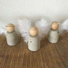 LAULA: DIY: Engel aus Beton