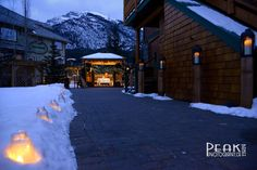 Kathy & Miah / Bear & Bison Country Inn / Canmore, Alberta / Photography by Roger Witney