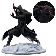 BLOG DOS BRINQUEDOS: The Force Awakens Kylo Ren ArtFX Statue