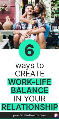 Do you struggle with how to create work-life balance in your relationship? Do you find yourself complaining that you and your bae just don't have time for each other? Well here are 6 practical work-life balance tips that actually work. We use these in our own relationship and they've helped us create better quality time and actually enjoy more of our lives together.  #worklifebalance #selfhelptips #relationshiptips #marriagetips