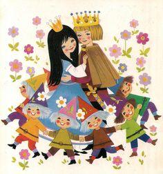 'Snow White' by Felicitas Kuhn [Pestalozzi Verlag] | Flickr - Fotosharing!