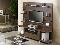 Decoração e Projetos   – Decoração de rack com painel Tvs, Tv Lcd, Tv Cabinet Design, Plasma, Tv Cabinets, Tv Unit, Diy Hacks, Entertainment Center, Living Room