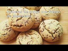 Ricas galletas dietéticas de arroz. ¡Receta fácil y sana!