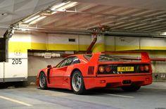 The Daily Ferrari: amazingcars: F40 by J.B Photography...