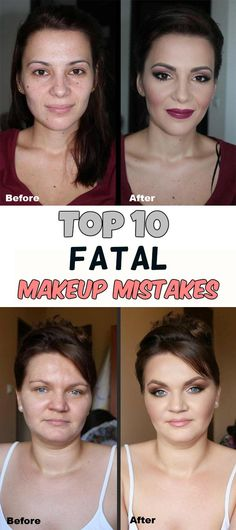 Top 10 fatal makeup mistakes - BeautyTotal.org