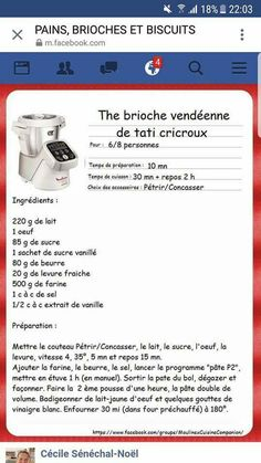 Etuve 1 dans four éteint fermé Cooking Chef, Easy Cooking, Brioche Companion, Cake Factory, Thermomix Desserts, Cake & Co, Culinary Arts, Macarons, Food And Drink