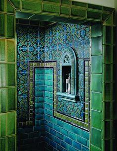 marvellous green white blue bathroom | 1000+ images about Party Theme ~ Royal Blue+Purple+Lime ...