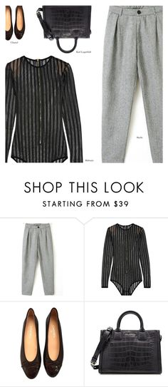 """Untitled #3727"" by amberelb ❤ liked on Polyvore featuring Balmain, Chanel and Karl Lagerfeld"