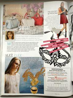 #TAKK #TwójStyl #fashio #magazine #gold