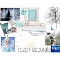 """Frozen inspiration (decorate)"" by julia-hiltunen on Polyvore"