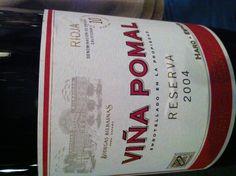 Viña Pomal 2004 Un clásico que se recupera muy bien...