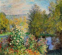Image: Claude Monet - The Corner of the Garden at Montgeron