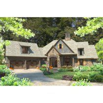 Wonderful country cottage homes Cottage House Plans, Cottage Homes, See Through Fireplace, Slab Foundation, Architectural House Plans, Basement House Plans, European House Plans, French Cottage, Cottage Chic