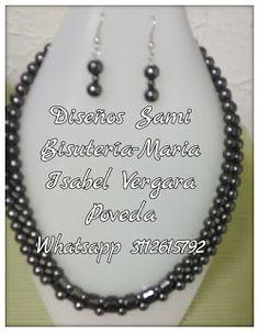 Diseños Sami Bisuteria:   www.bisuteriasam.blogspot.com: Gargantilla duo