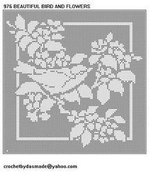Free Filet Crochet Tablecloth