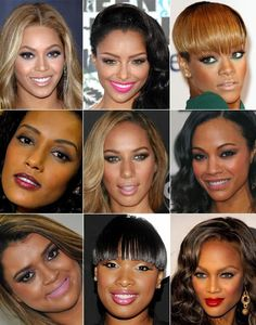 Makeup for brown skin