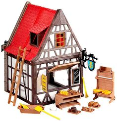 Playmobil Knights Medieval Bakery Set #6219 on sale at ToyWiz.com