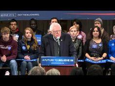 Full Bernie Sanders Morning Rally in Iowa 1/19/16