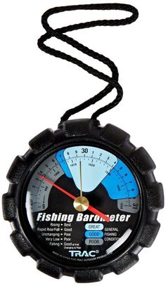 """Precision Outdoors """"COLOR CODED"""" Fishing Barometer - POPULAR"""