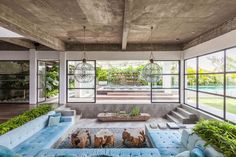 """The House. - """"worlds most beautiful homes"""" - Villas for Rent in Beraw, Bali, Indonesia Modern Tropical House, Tropical House Design, Tropical Beach Houses, Modern House Design, Modern Houses, Tropical Garden, Patio Interior, Dream House Interior, Interior Modern"""