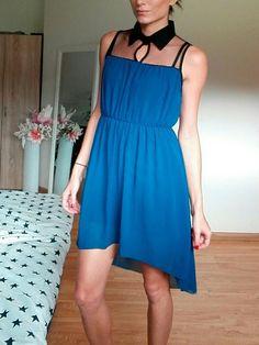 Šaty jsou jako nové, mela jsem je jen 2x velikost XS. Foceno na postavě velikosti S, 166 cm V pase guma. Přetahují se přes...