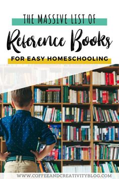 Dig deeper in your homeschool studies with this massive list of reference books that we love and use almost daily in our homeschool. #homeschool #homeschoolsupplies #homeschoolroom #homeschoolscience #homeschoollife #unschooling #homeschoolbooks #classroombooks