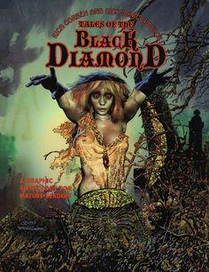 Fantasy Comics, Horror Comics, Comic Artist, Black Diamond, Sci Fi, Novels, Comic Books, Wonder Woman, Superhero