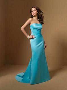 Elegant Blue Bridesmaid Dresses