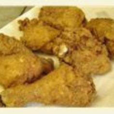 You make Kentucy Fried Chicken much better than the restaurant!