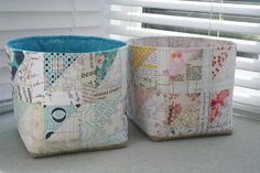 Fabric Bowls for my Sew Sew Modern partner Low Volume Quilt, Scrap Busters, Fabric Bowls, Vide Poche, Scrappy Quilts, Wooden Spoons, Free Sewing, Fabric Scraps, Quilt Blocks