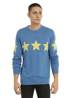 Cartoon Network Steven Universe Blue Star Guys SweaterCartoon Network Steven Universe Blue Star Guys Sweater, BLUE