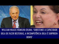 Folha Política: William Waack humilha Dilma: 'Subestimei a capacidade dela de fazer besteiras, a incompetência dela é surpreendente'; veja vídeo   http://w500.blogspot.com.br/