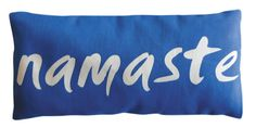 Organic Cotton Eye Pillow - Namaste Navy