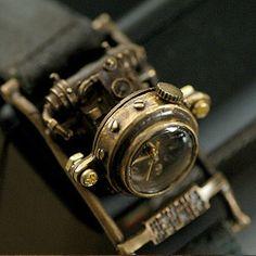 steampunk watch #steampunk #jewelry #fashion