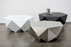 Melvin Ong origami inspired tea table, now available in Sydney at Shiboz.bigcartel.com