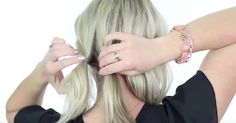 Make An Impression At Your Next Holiday Party With This Fresh, Elegant Hairstyle! via LittleThings.com
