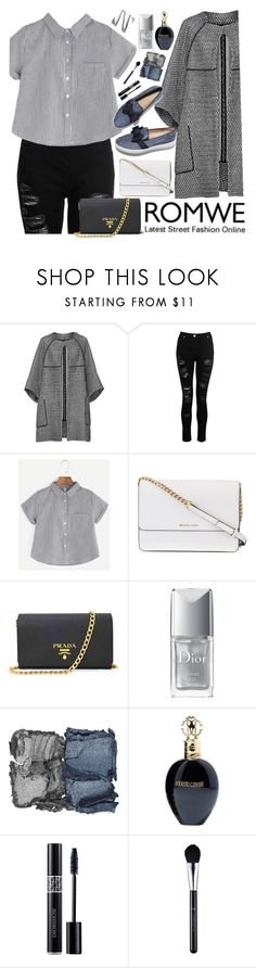 """""""What to wear today? #5"""" by cateof ❤ liked on Polyvore featuring Maticevski, Michael Kors, Prada, Christian Dior, NARS Cosmetics and Roberto Cavalli"""