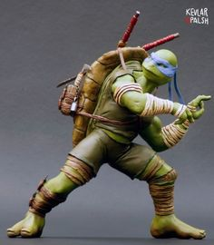 Lethal Leonardo (Teenage Mutant Ninja Turtles) Custom Statue / Bust