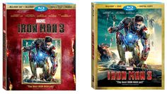 ironman 3 blu ray collectors can  | Iron Man 3 Set for Digital, Blu-Ray, DVD, Etc. Release in September ...