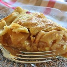 Old-Fashioned Apple Pie. Apple pie ...so American, so delicious. A true classic.