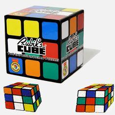 Lot de 2 puzzles Rubik's Cube