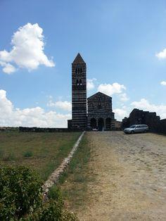 La cattedrale di Saccargia next to Alghero