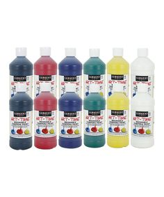 Look at this 12-Pack Tempera Assorted Paint Set on #zulily today!