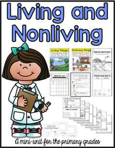 Sarah's First Grade Snippets: Living and Nonliving Update