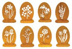 Scrolled Mini Flowers Project Patterns