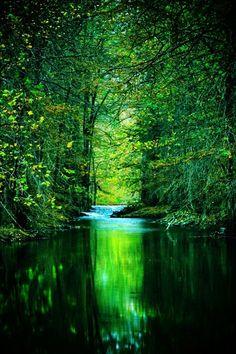 Emerald river, Rio Verde, Texas (by Katya Horner)